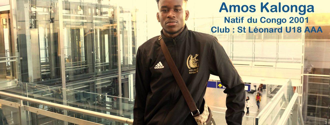 Institut jmg try out RC Lens depart paris Amos Kalonga